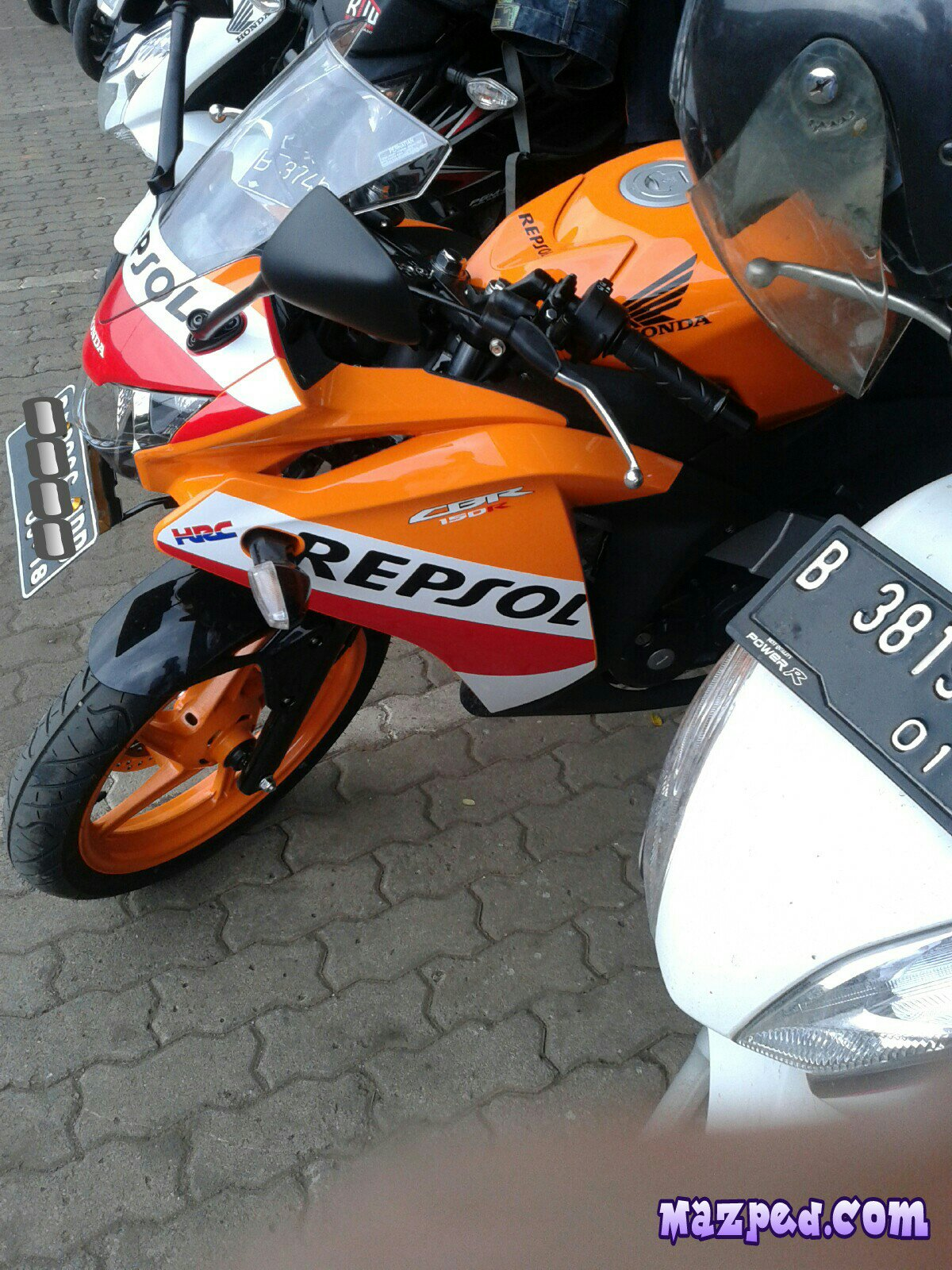 Yamaha Vixion New Striping | Gallery Modifikasi Motor