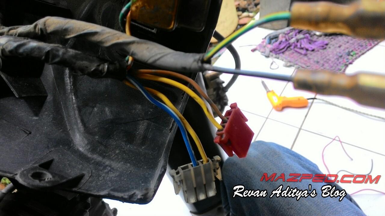 Solusi Pasang Led Stop Lamp Supra X 125 Wiring Diagram Lampu Senja Image