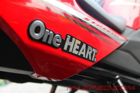 emblem one heart