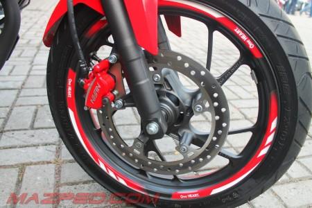 wheel list sticker