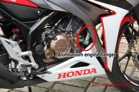 alumunium engine hanger
