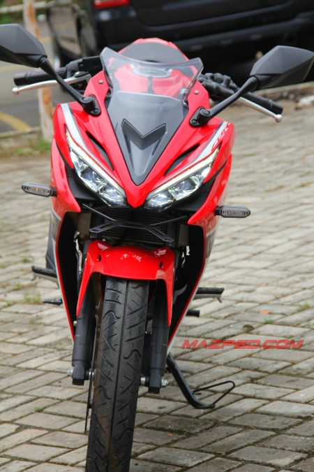 new cbr front view