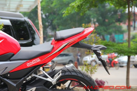 rear cowl new cbr yang sporty