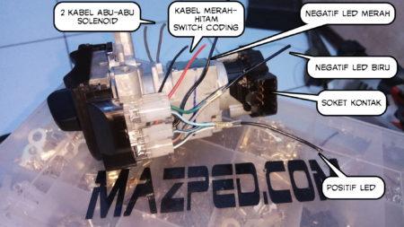 Wiring Keyless PCX150 Vietnam | MAZPEDia.COM on