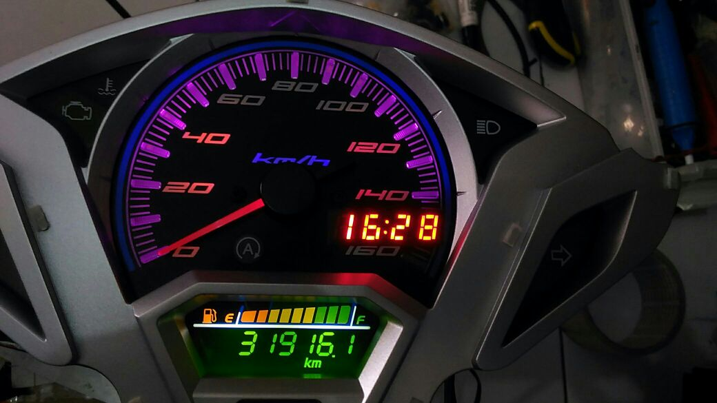 Wiring Diagram   Pin Out   Speedometer Vario 125  150